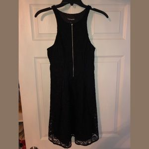 Black Lace Dress from Express